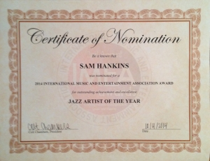 Jazz Artist of the Year 2014